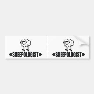 Funny Sheep Bumper Sticker
