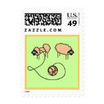 Funny Sheep custom Postage Stamps