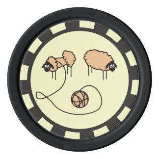 Funny Sheep custom Set Of Poker Chips