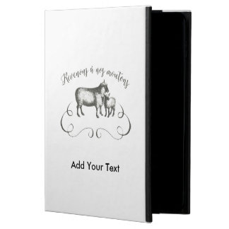 Funny Sheep Farm French Expression Vintage Style Powis iPad Air 2 Case
