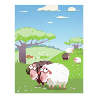 Funny Sheep Flyer