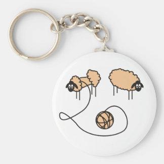Funny Sheep Keychain