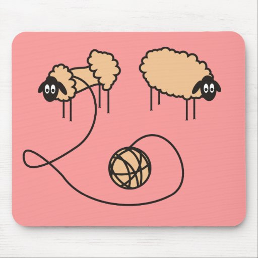 Funny Sheep Mousepad