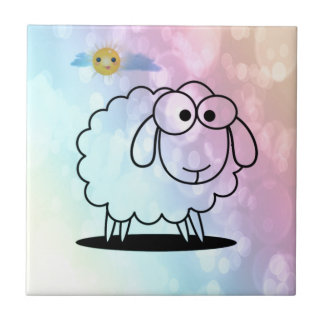 funny sheep,soft tiles