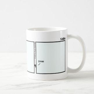 Funny Shhh Stickman Mug - 123