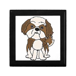 Funny Shih Tzu Puppy Dog Cartoon Gift Box