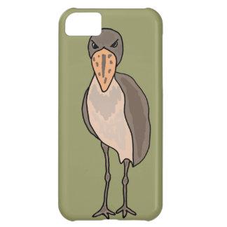 Funny Shoebill Bird Design iPhone 5C Cover