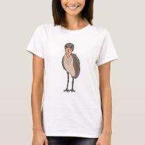 Funny Shoebill Bird Design T-Shirt