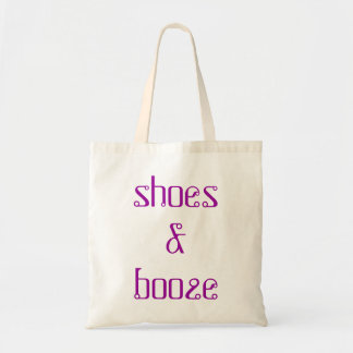 funny 'shoes & booze' bachelorette hens night bag