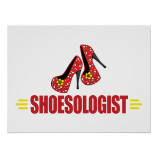 Funny Shoes Poster