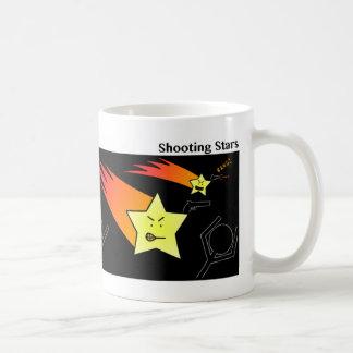 Funny Shooting Stars Stickman Mug - 092 Basic White Mug