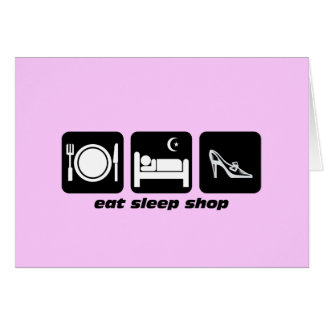 funny shopping card