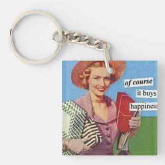 Funny Shopping Keychain