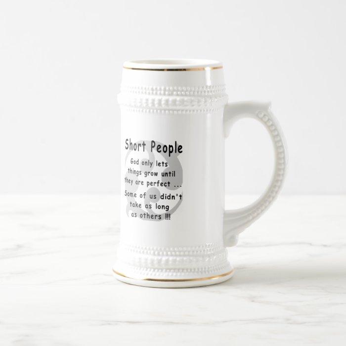 Funny Short People Revenge. Beer Stein