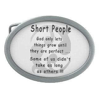 Funny Short People Revenge. Belt Buckle