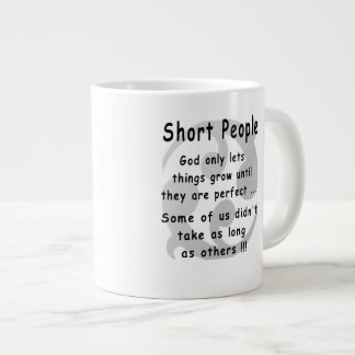 Funny Short People Revenge. Large Coffee Mug