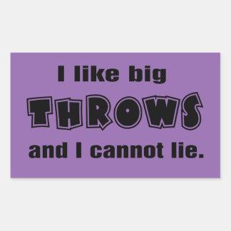 Funny Shot Put Discus Hammer Javelin Throw Sticker