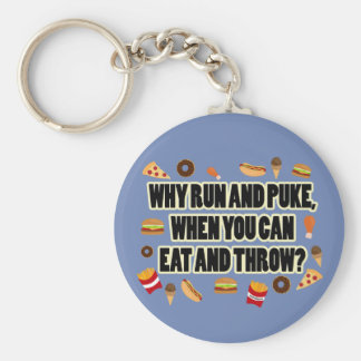 Funny Shot Put, Discus Thrower Keychain Gift