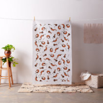 Funny shrimp fabric