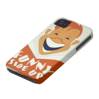 Funny Side Up Case iPhone 4 Covers