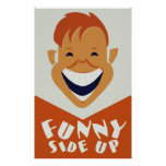Funny Side Up Poster