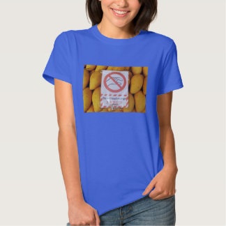 Funny Sign 'Do not touch mango' Tee Shirt