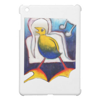 funny singing bird gift iPad mini case