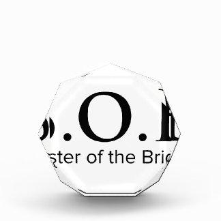 Funny Sister Of The Bride Acrylic Award