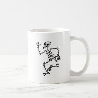 Funny Skeleton Classic White Coffee Mug