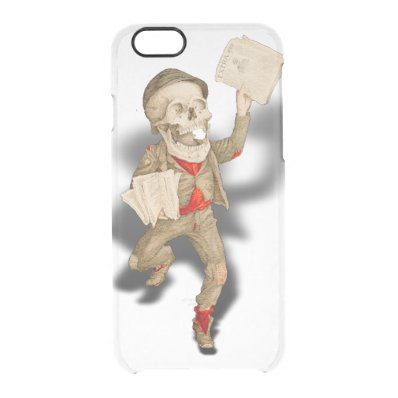 Funny Skeleton Clear iPhone 6/6S Case