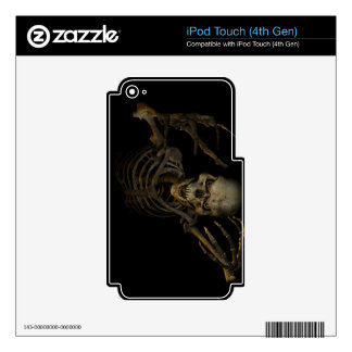 Funny Skeleton Decal For iPod Touch 4G