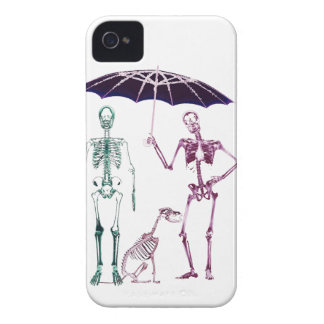 Funny skeleton dog walk iphone covers