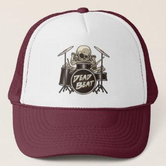 Funny Skeleton Drummer Trucker Hat