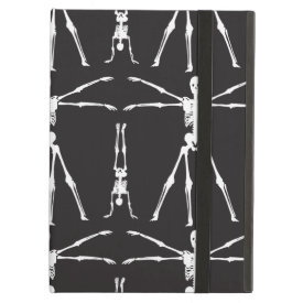 Funny Skeleton Exercises Gothic Bones Skulls iPad Covers
