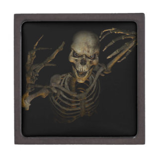 Funny Skeleton Gift Box