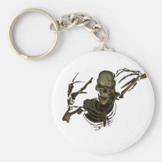Funny Skeleton Keychain