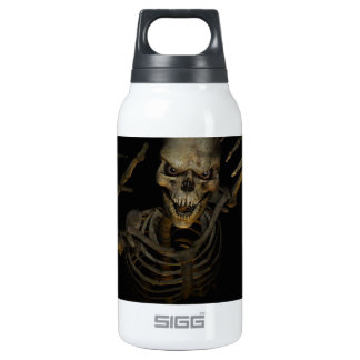 Funny Skeleton 10 Oz Insulated SIGG Thermos Water Bottle