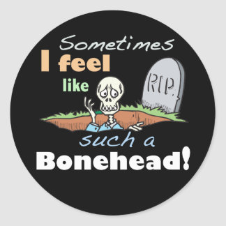 Funny Skeleton Stickers
