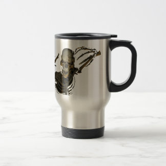 Funny Skeleton Travel Mug