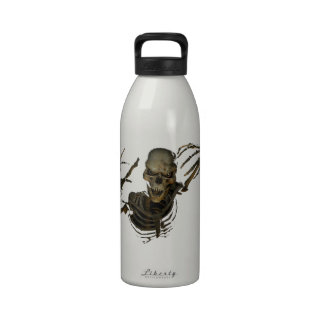 Funny Skeleton Reusable Water Bottles