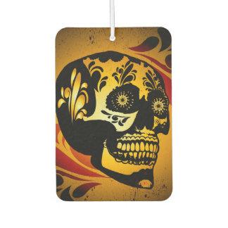 Funny skull air freshener