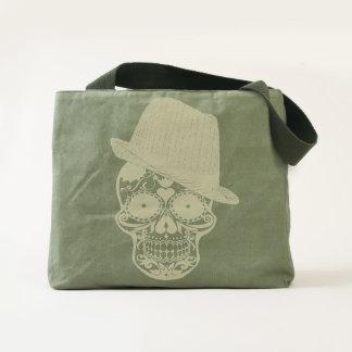 Funny Skull Design Tote