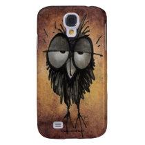 Funny Sleepy Owl Galaxy S4 Case