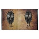 Funny Sleepy Owl iPad Folio Cover