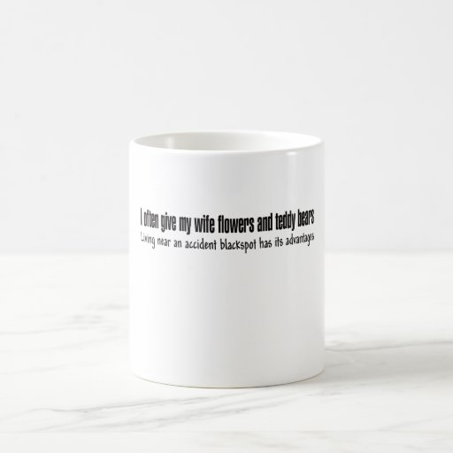 Funny slogan mug