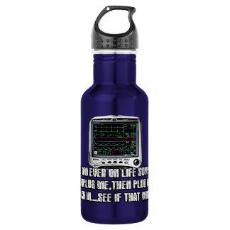 Funny slogan water bottle