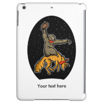 Funny Sloth and fox Case For iPad Air