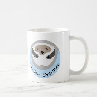 Funny Sloth Mug Slow Down Smile More Cute Sloth