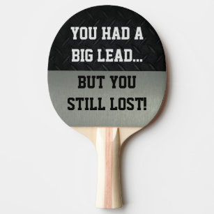 Humor Ping Pong Amp Table Tennis Equipment Zazzle
