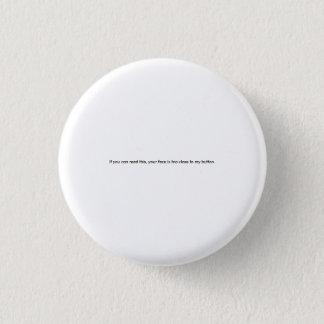 Funny Small Print Button